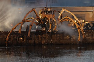 robotic spider of doom