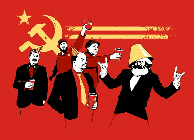 communist party threadless