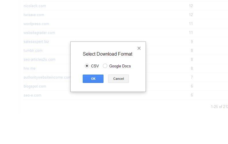 WMT select download format