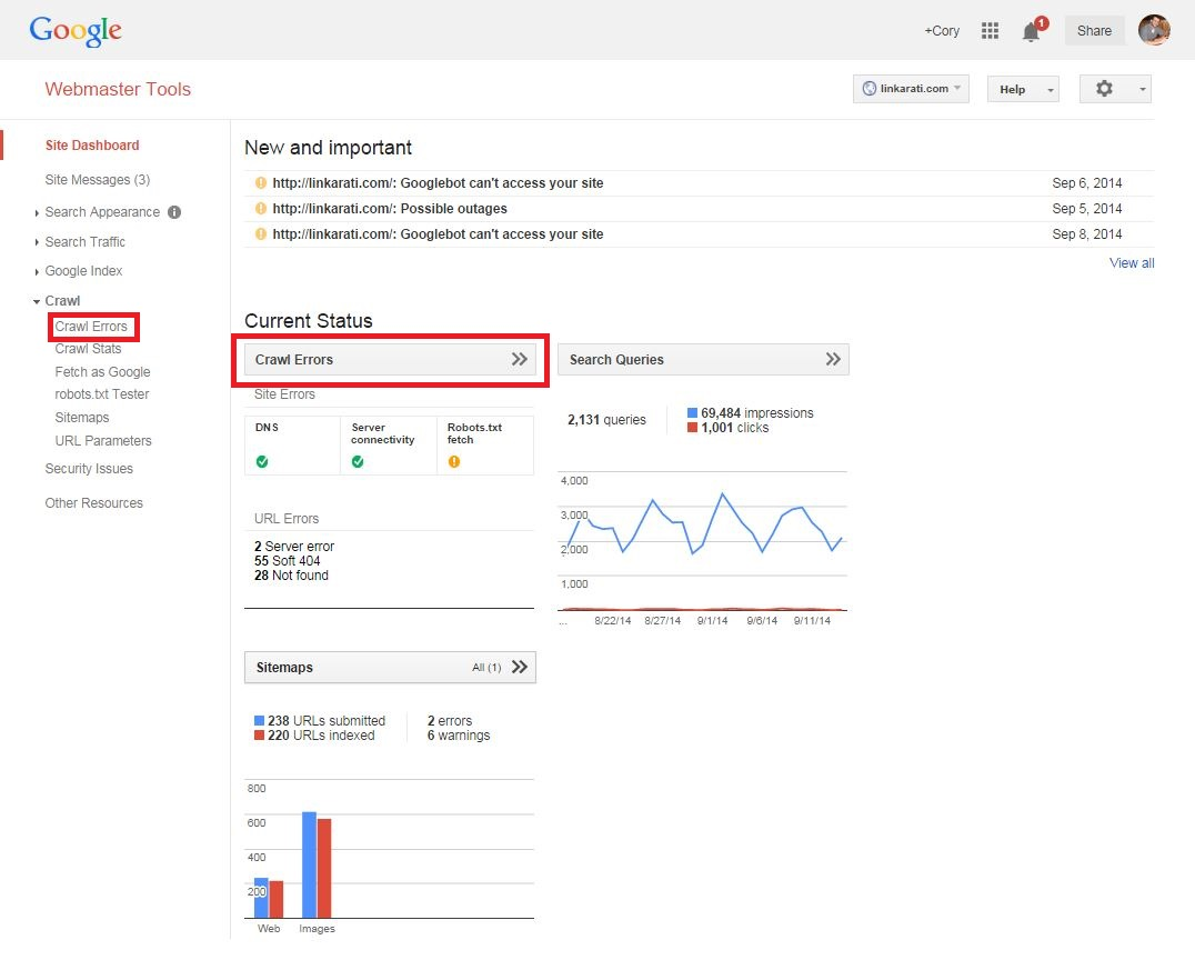 404 link reclamation using google webmaster tools tutorial tuesday