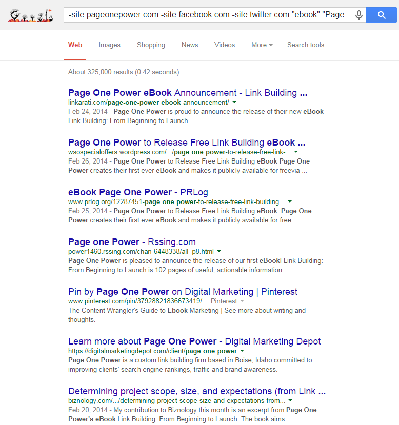 Branded Content SERP