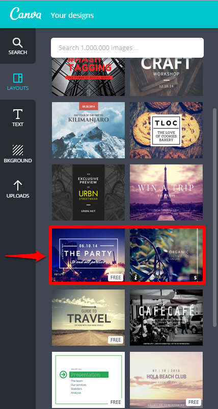 Canva Design Page Free and Paid with Box