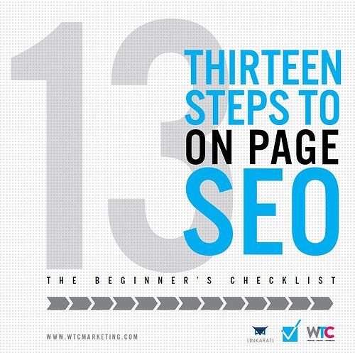On-Page SEO Guide Checklist