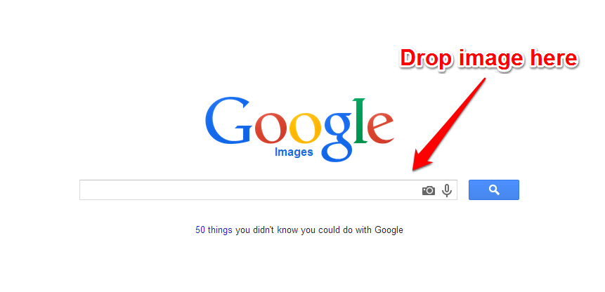 Google Images Capture Drop