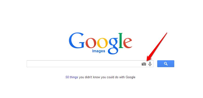 Google Images Capture CameraArrow