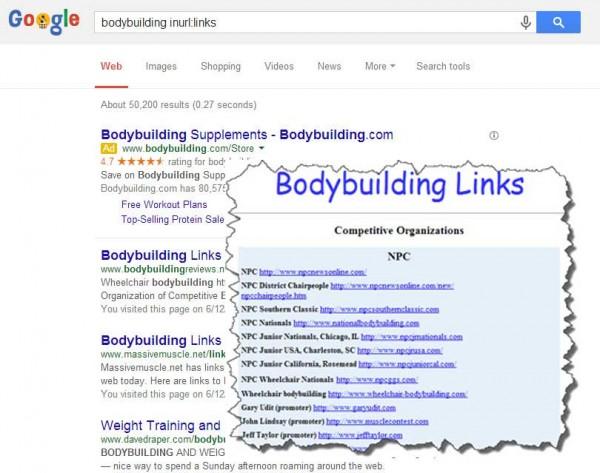 resource lists inurl: links
