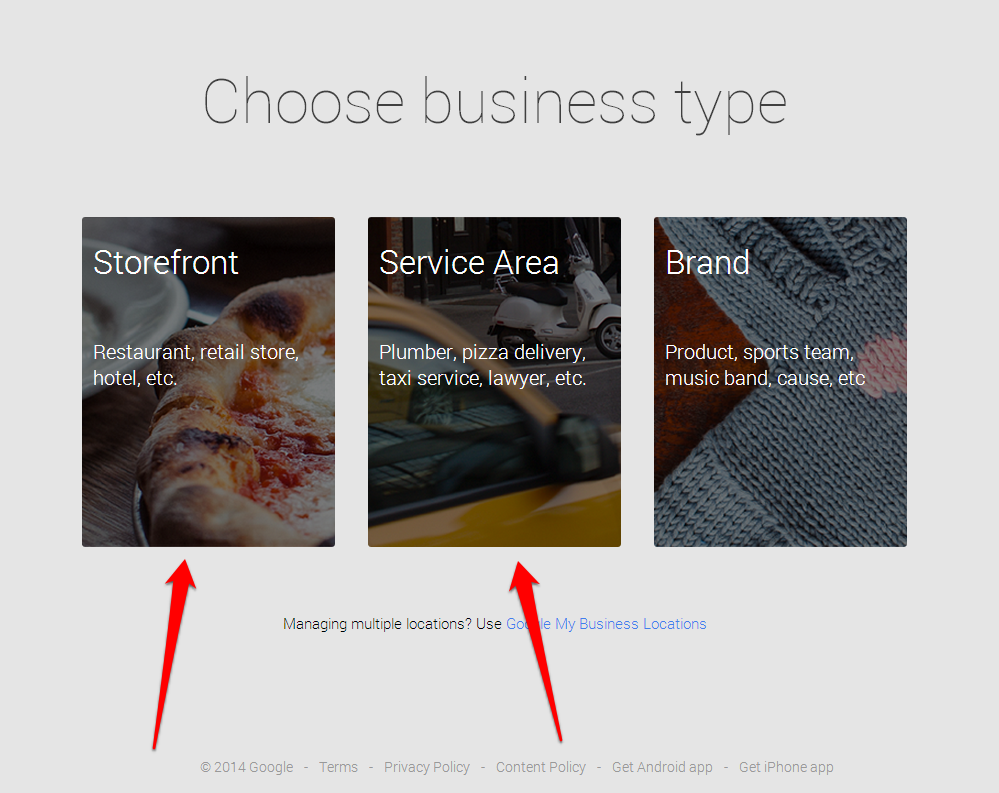 Business Type Capture with Arrow