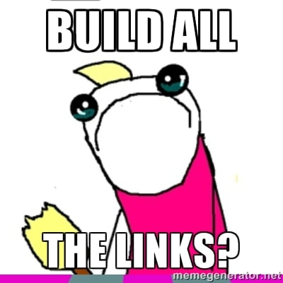 build all the links