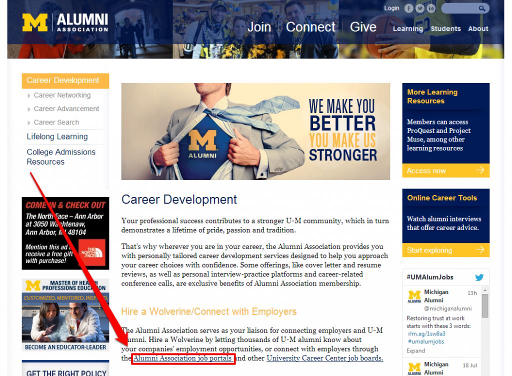 Alumni Employment LP with Arrow