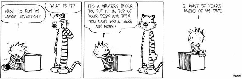 calvin-hobbes-writers-block
