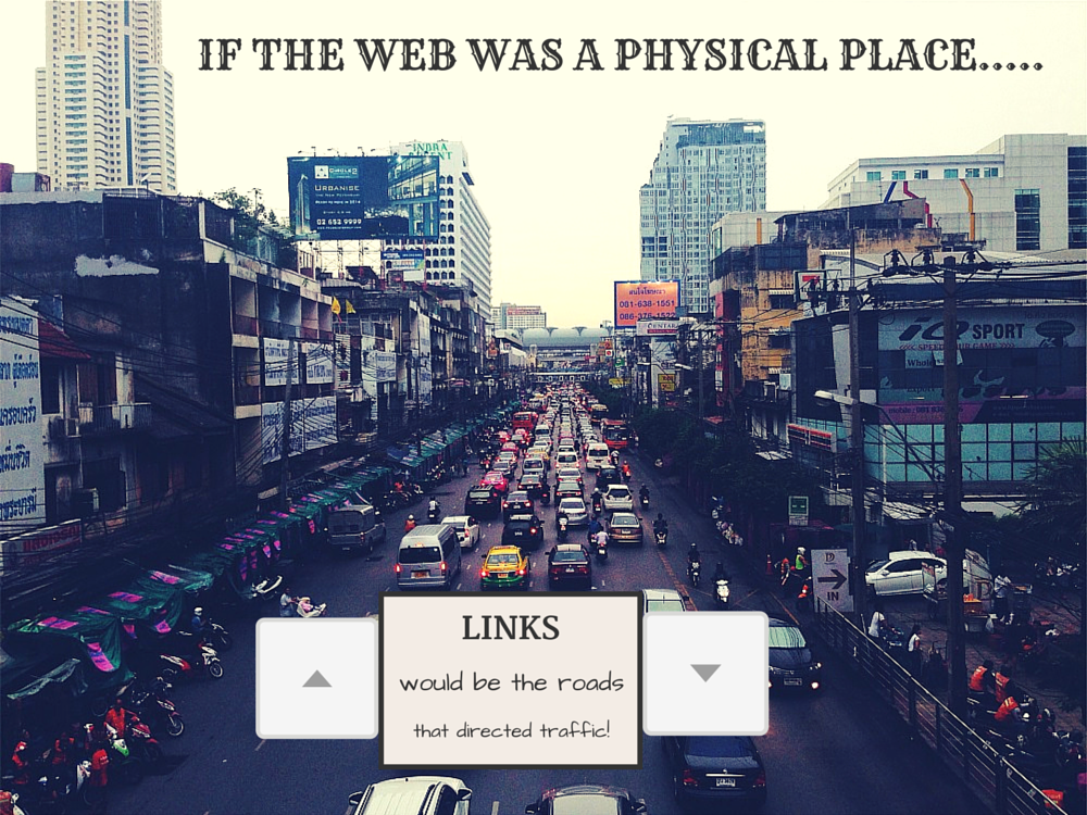 If the web  was a physical place