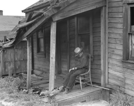Elderly Man Dozing