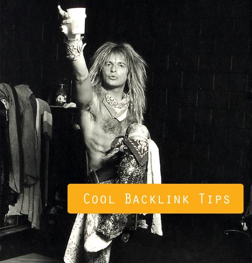 Cool Backlink Tips!