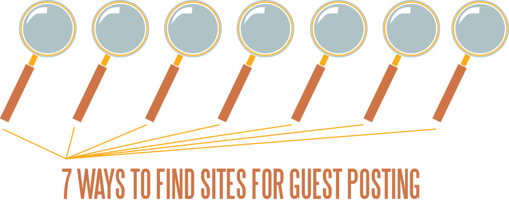 7 Ways to Find Sites for Guest Posting