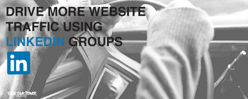 Web Traffic with LinkedIn Groups