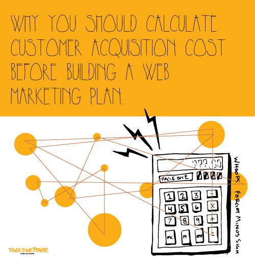 Why you should Calculate Customer Acquisition Cost Before Building a Web Marketing Plan