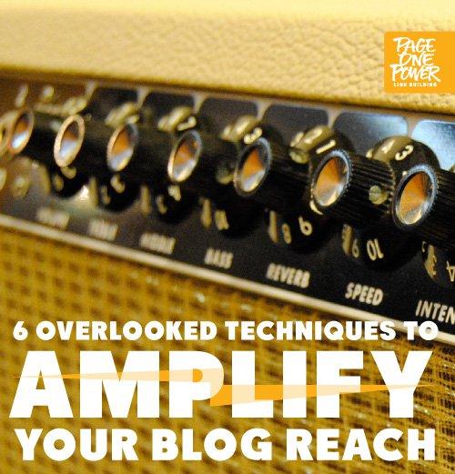 Amplify Your Blog Reach
