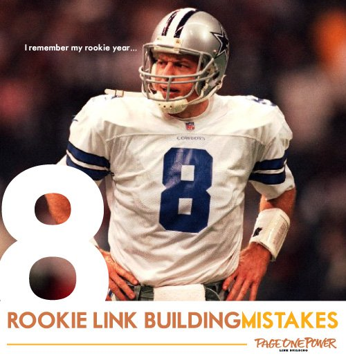 8 Rookie Link Building Mistakes