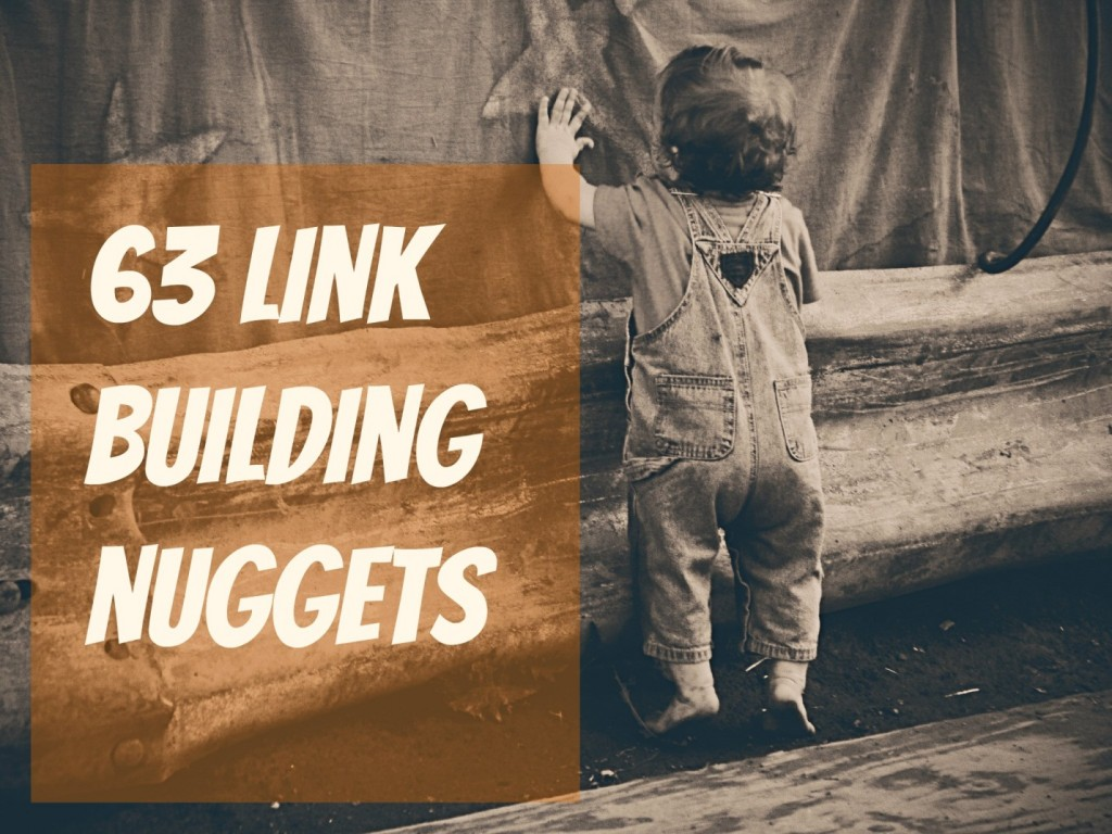63 Link Building Nuggets