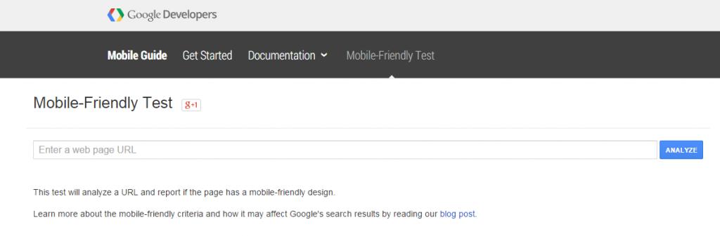 Google Tool Homepage