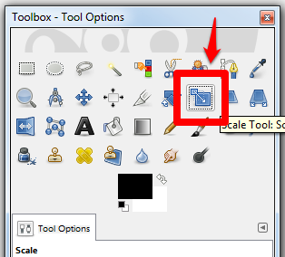 Adjust font options example screenshot