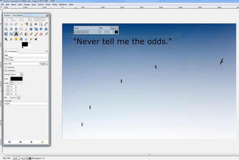 Tutorial screenshot