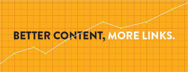 Better content more links