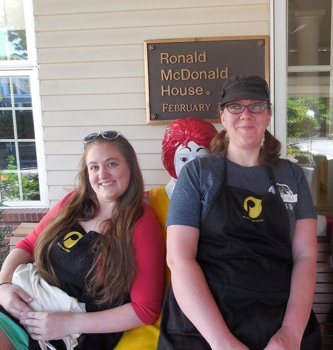 P1P at Ronald McDonald house