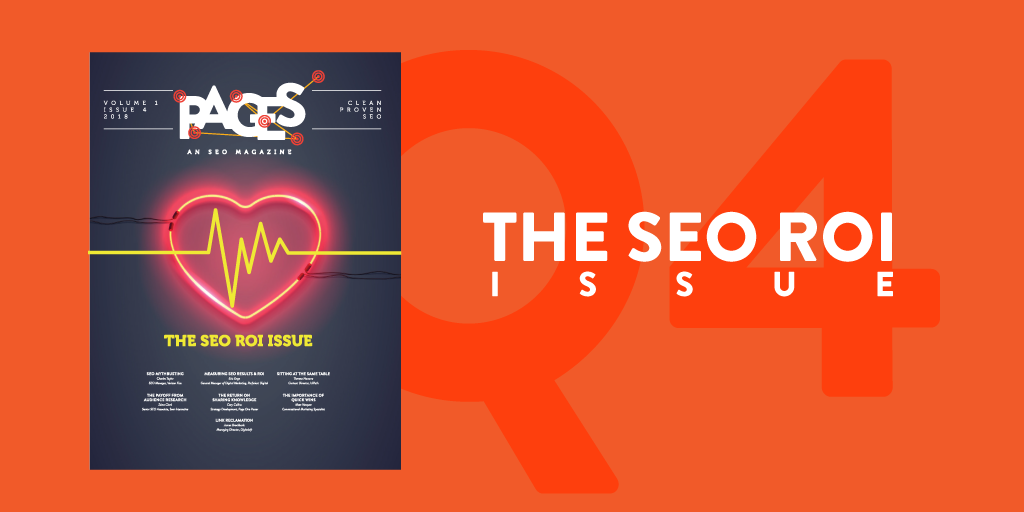 Issue #4: The SEO ROI Issue