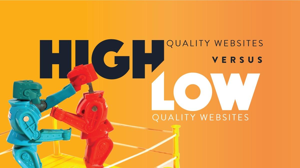 High vs low