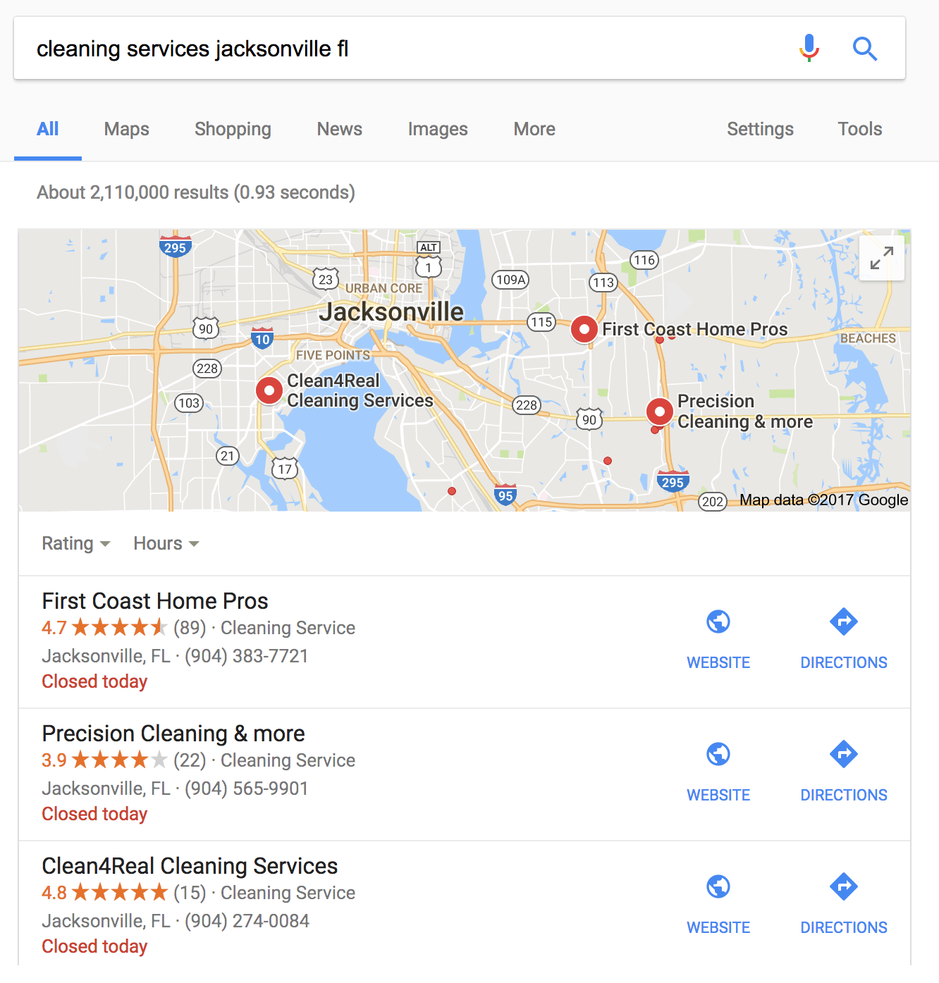 Cleaning services Jacksonville merged
