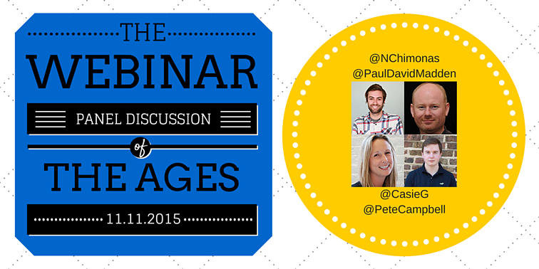 Webinar panel discussion of the ages image
