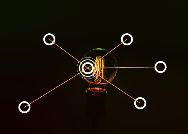 Light bulb graph