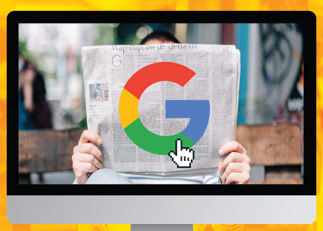 Google as a newspaper