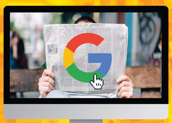 Google as a newspaper