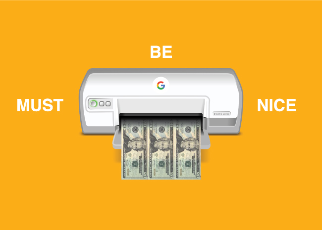 Google printing money