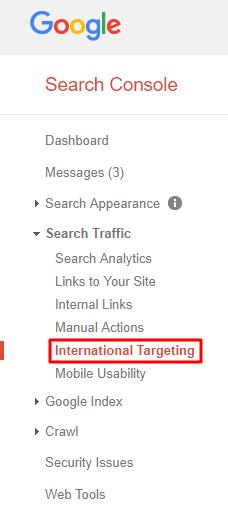 International Targeting Nav