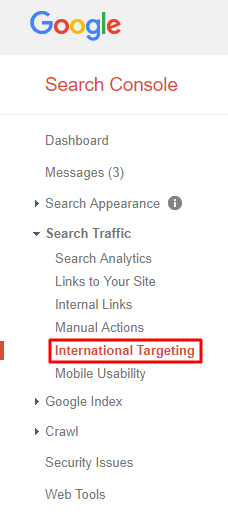 International Targeting Nav
