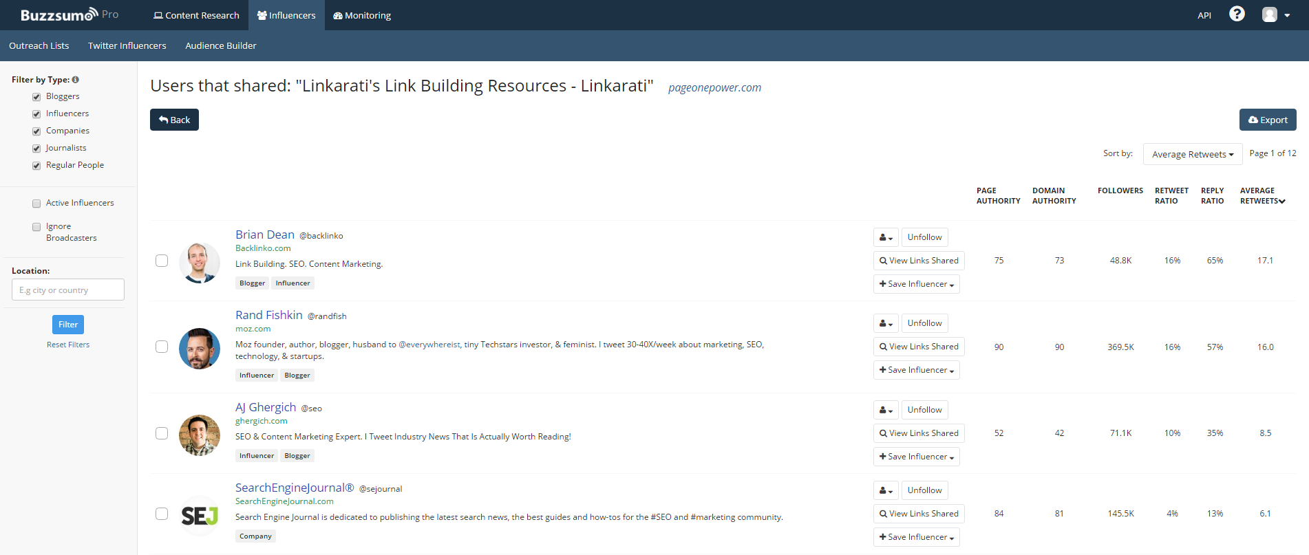 BuzzSumo link building resources shares.png