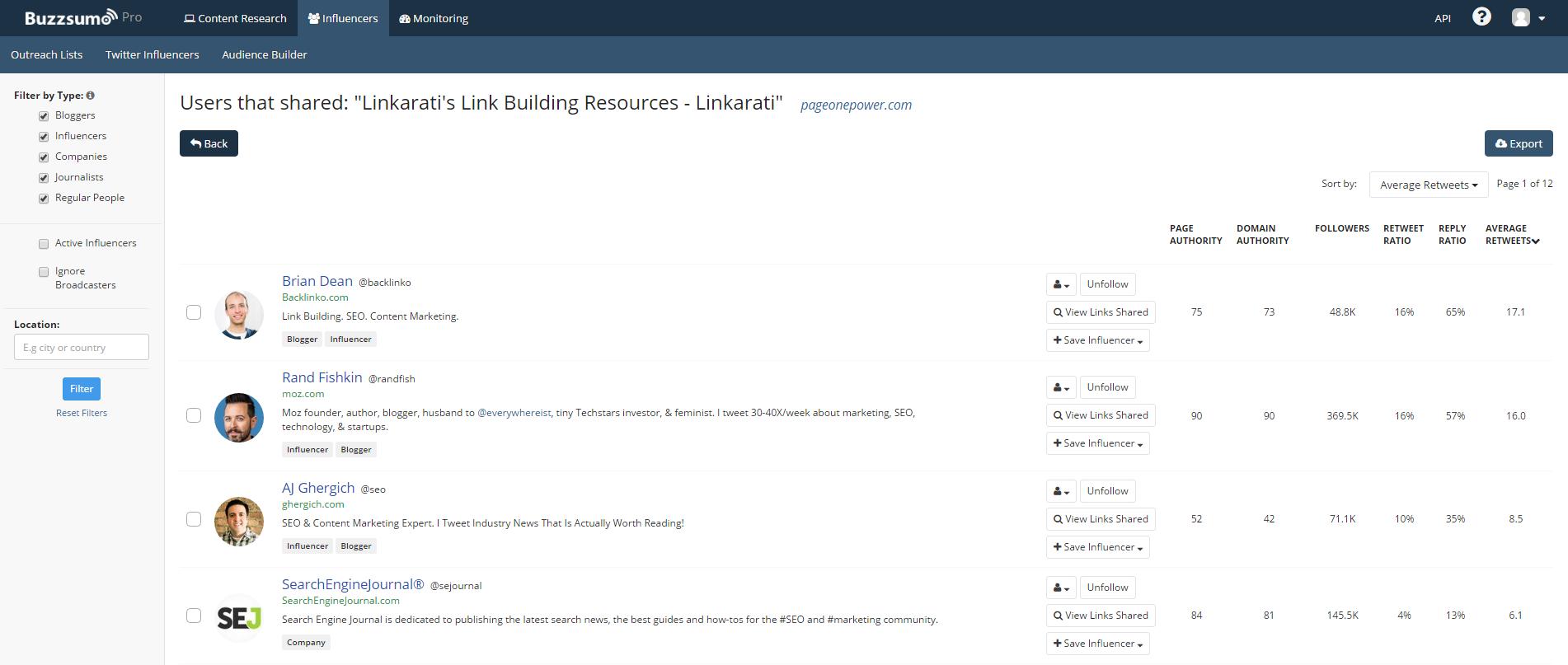 BuzzSumo link building resources shares.png