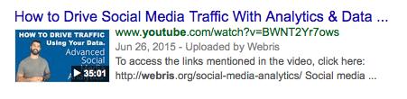 How to drive social media traffic youtube screenshot