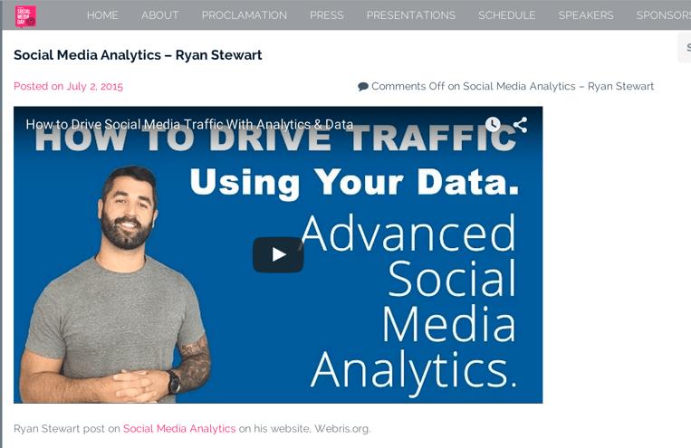 Link results screenshot