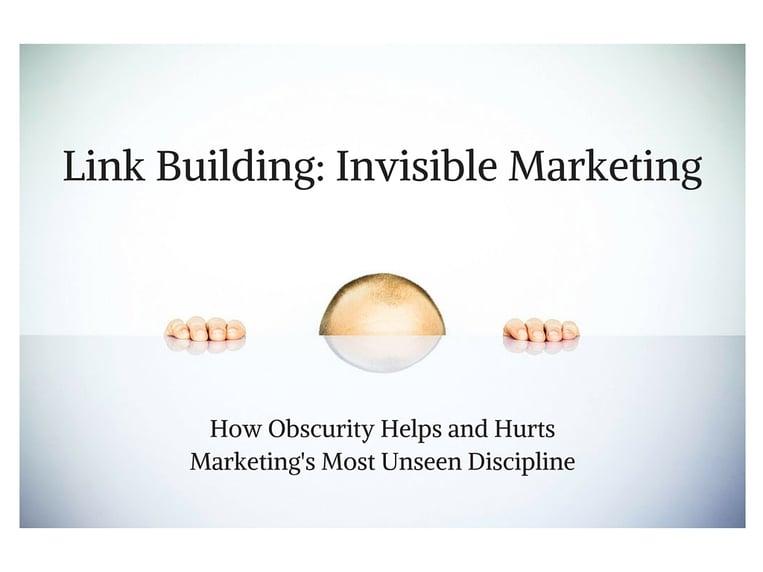 Invisible marketing image