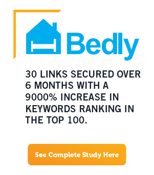 SEO Case Study : Bedly