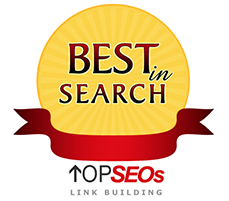 Best in Search - Top SEOs Link Building Award