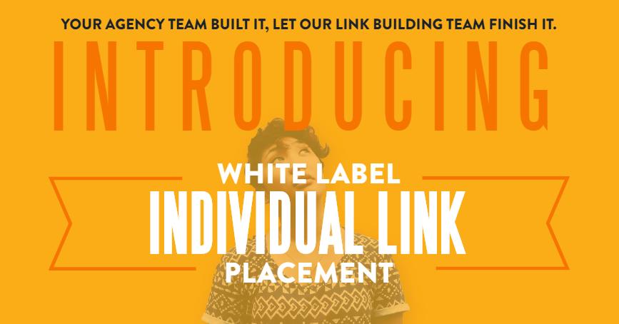 White Label Individual Link Order