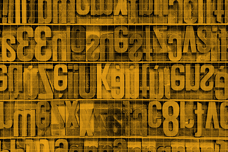 Link Types letters collage image